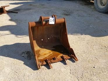 14-Bucket for Backhoeloader JCB3CX 4CX mini excavator-740 mm