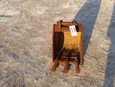 19-Bucket for mini excavator 3-4 t-400 mm