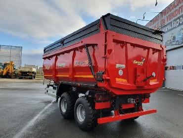 hummel prikolica 15 ton zadaj