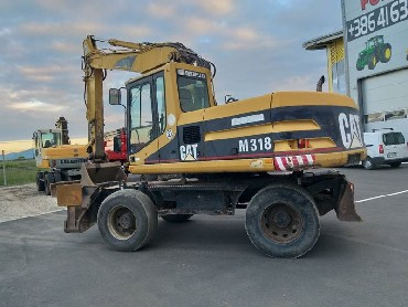 bager cat 318