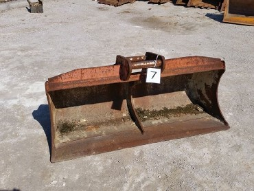 7-Bucket for Backhoe loader or mini exvator-1450mm